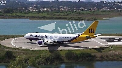 6x4 inches Airbus A330 MONARCH AIRLINES TRIBUTE Fridge Magnet