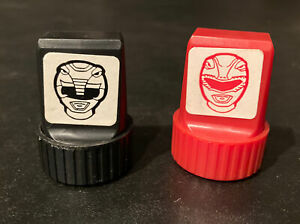 Power Rangers Rubber Stamps Lot Of 2 Rare 90s Vintage Mmpr Collectibles