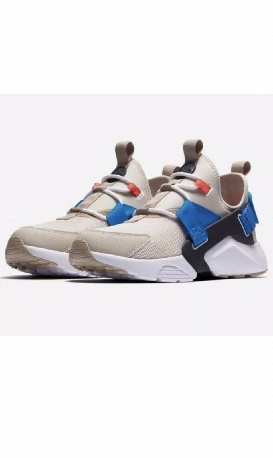 Womens Nike Air Huarache City Low AH6804-006 Desert Sand  New Size 10 & 11.5