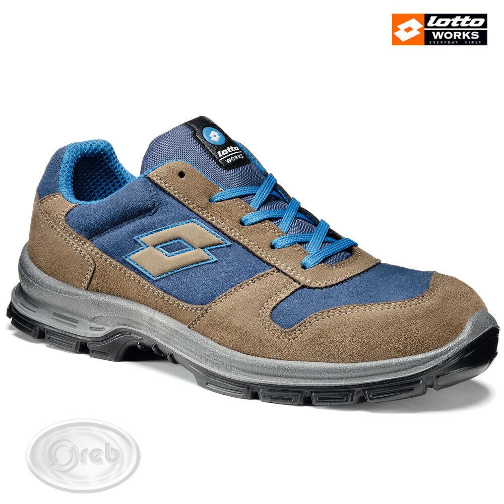 Zapatos ANTINFORTUNISTICHE LOTTO WORKS SPRINT II 850 R6992 S3 SRC IMPERMEABILI