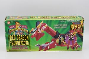 Puissant Morphin Power Rangers Dragon Rouge Thunderzord Bandai 2225