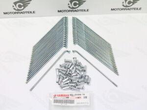 Yamaha-Sr-500-2JT-48T-Spoke-Kit-Roue-Arriere-18-034-Zinc-Plaque-Neuf-Veritable