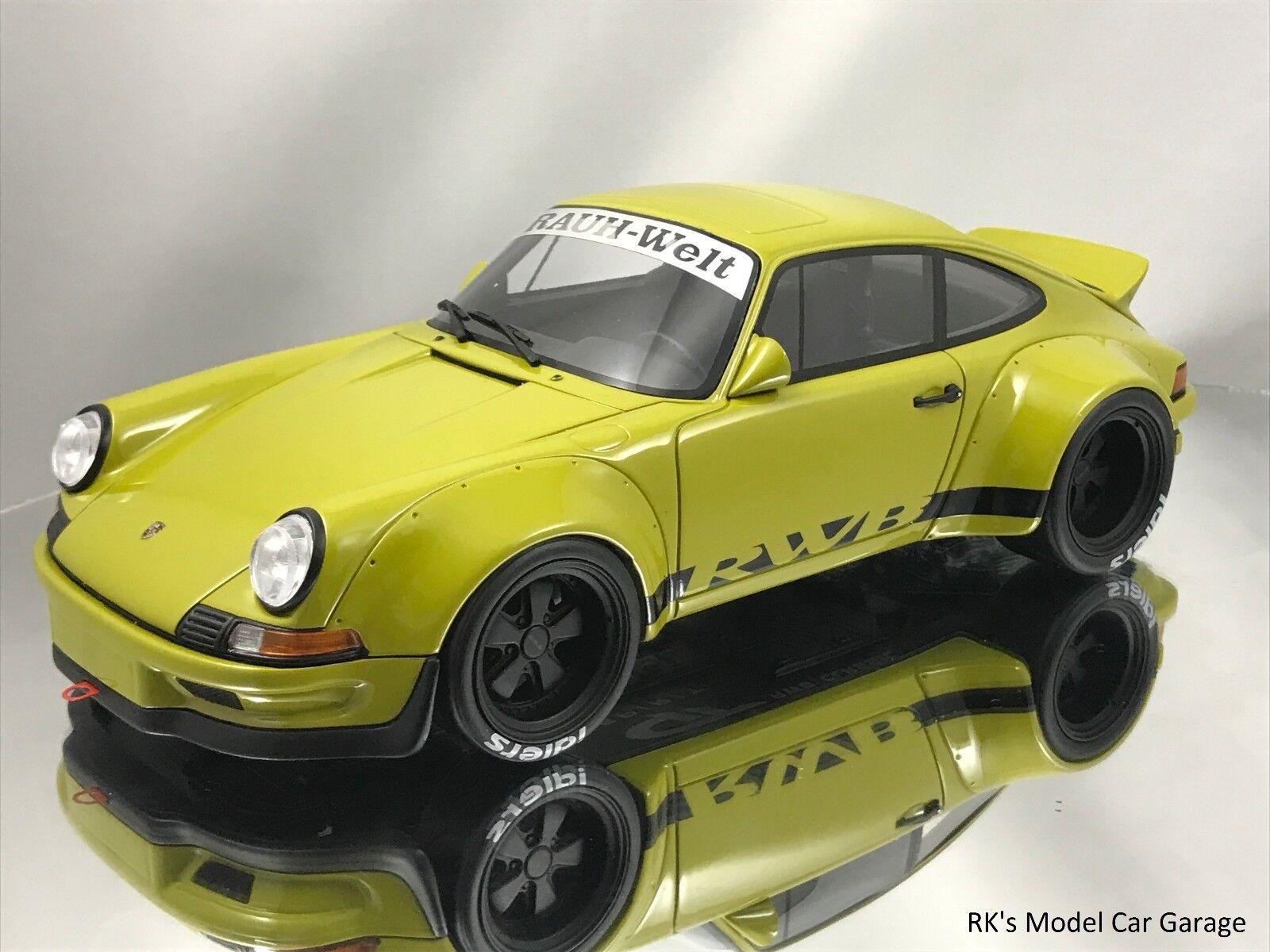 GT Spirit Porsche 911 (930) RSR RWB Rauh-Welt Begriff Verde Caqui 1/18