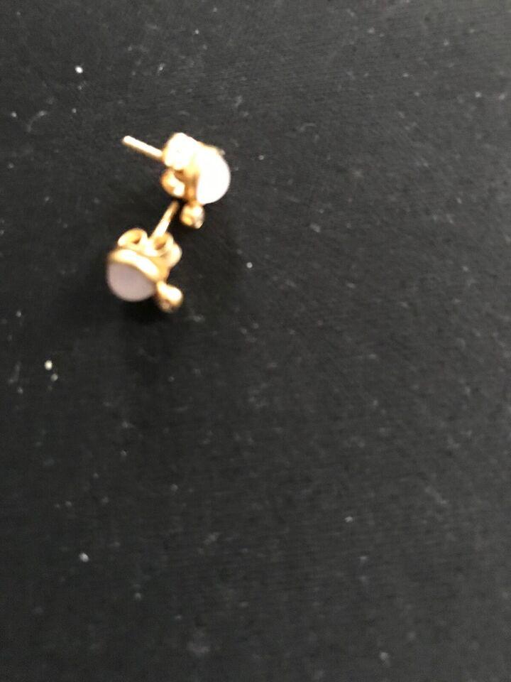 Øreringe, guld, Julie sanlow
