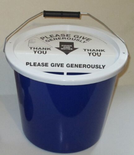 10 LABELS FOR CHARITY COLLECTION DONATION BUCKETS //BOXES
