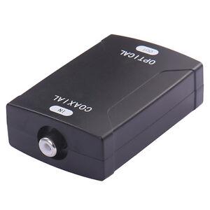 Optical-Digital-Audio-Converter-COAX-Coaxial-to-TOSlink-24bit-192K-HD-Sampling