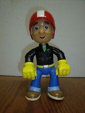 "Disney Handy Manny Doll Figure 2008 Mattel 8"" Tall Biker Motorcycle Outfit EUC"