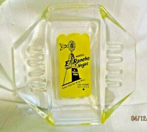 Vintage-Hotel-El-Rancho-Las-Vegas-Ashtray-from-the-1950-039-s