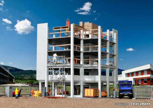 KIBRI 38537 h0 bâtiments-gros œuvre avec les chantiers Accessoires Kit article neuf