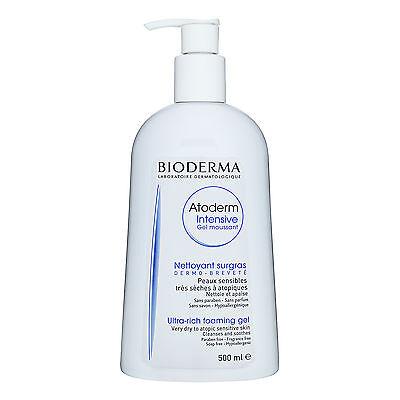 Bioderma Atoderm Intensive Ultra-Rich Foaming Gel Cleanser 500ml Dry #6786