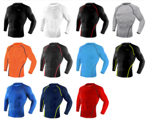 Take five Sports Compression Skin Collants base Under layer Long shirts Round