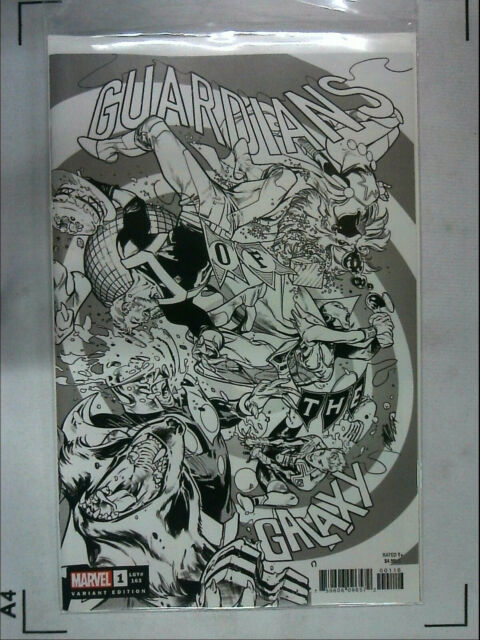 GUARDIANS OF THE GALAXY #1 LARRAZ PARTY sketch VARIANT NEAR MINT