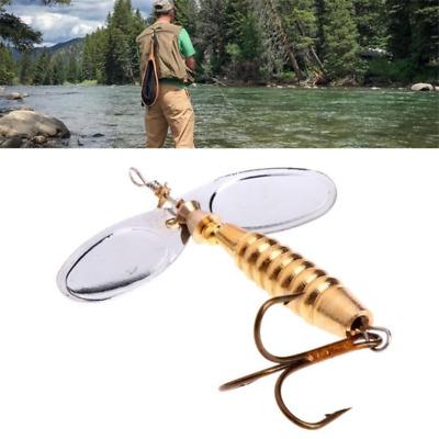 9cm 16.5g Metal Fishing Lures Spinner Spoon Jig Bait Bass Crankbait Hook Tackle