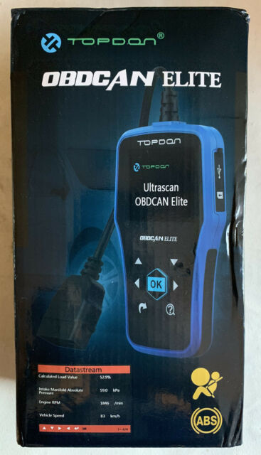 TOPDON Elite OBD2 Cars ABS SRS Reset Tool Diagnostic