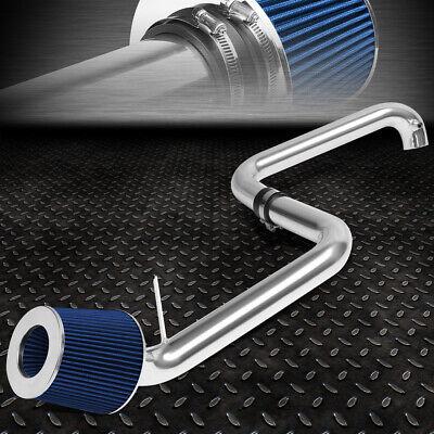 BLUE CONE FILTER ENGINE SHORT RAM AIR INTAKE PIPE KIT FOR 01-05 HONDA CIVIC EX