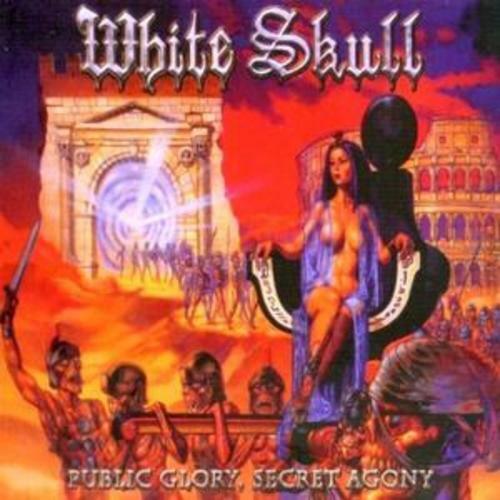 White Skull : Public Glory, Secret Agony [digpak] CD (2008) ***NEW***