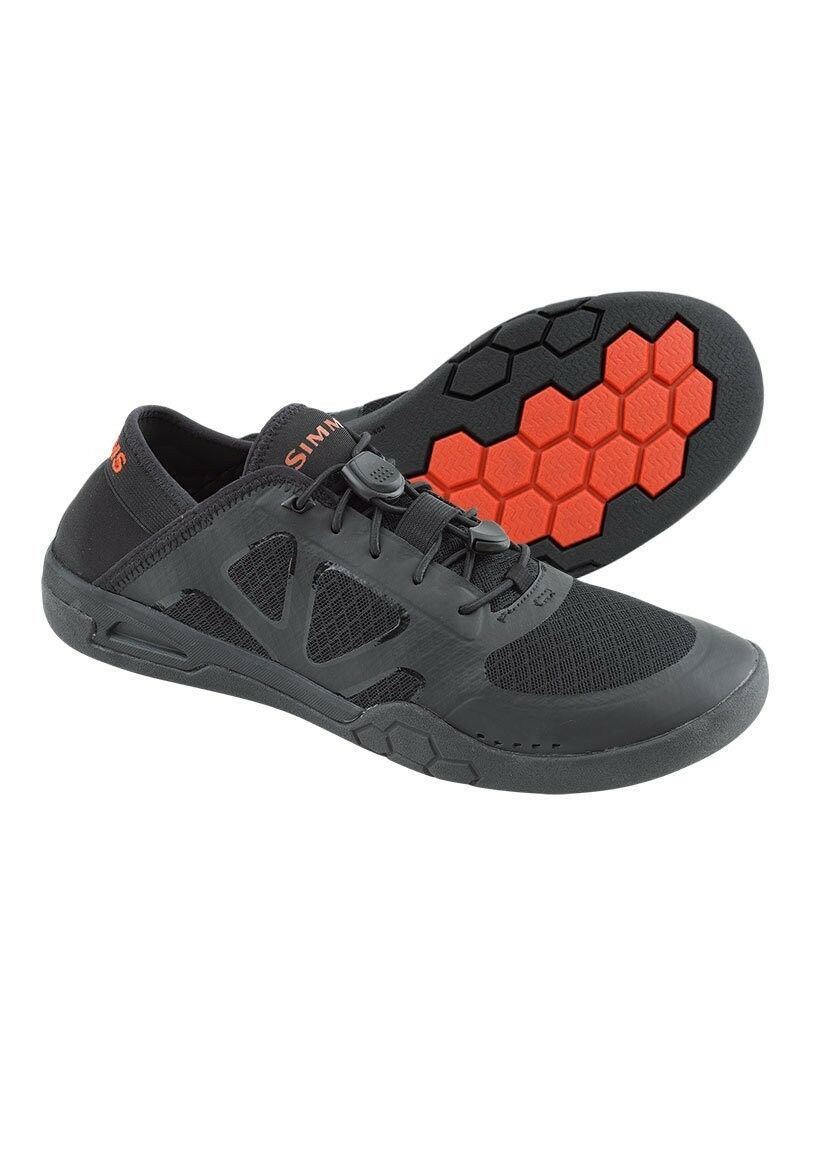 Simms courants Chaussure  noir Neuf  Taille 7  Closeout