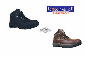 299c0bfc35b Details about NEW MENS NORTHWEST TERRITORY INUVIK LEATHER HIKING BOOTS  WATERPROOF TREK SHOES