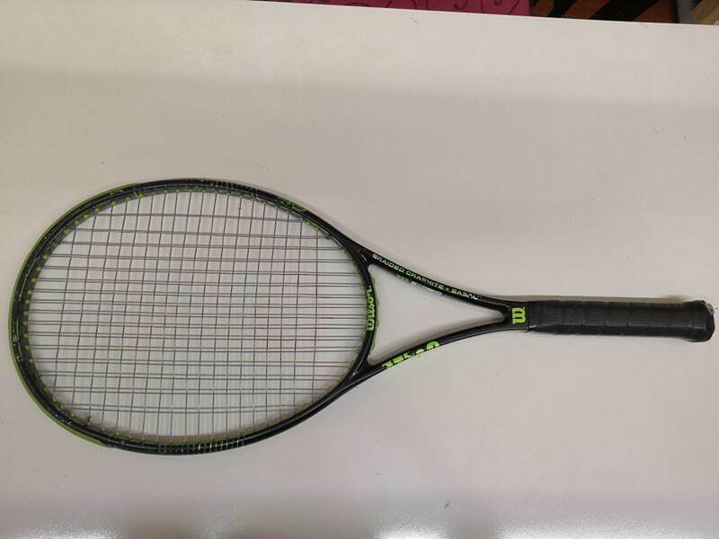 Wilson Blade 98 Pro Stock 16x19 98 cabeza 11.5oz Encordada 4 1 4 Grip Tenis Raqueta