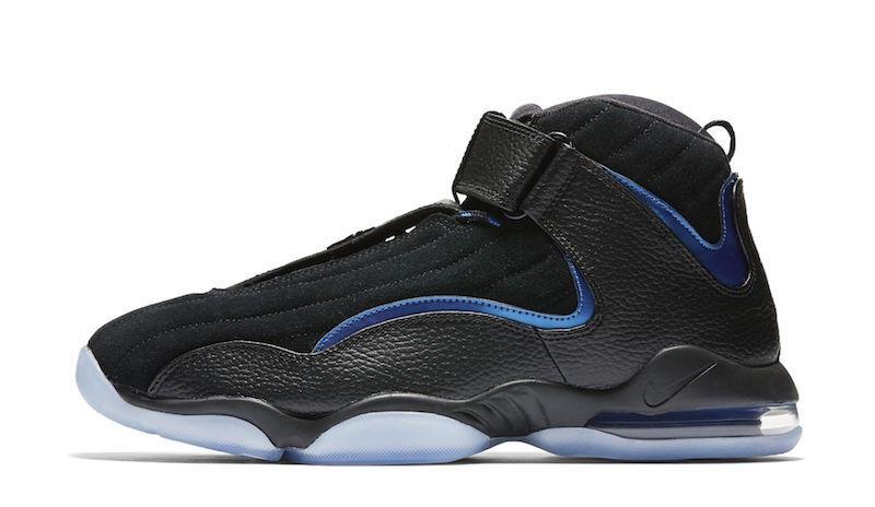 Nike Air Penny 4 Orlando Magic Black Blue Size 14. 864018-001 Jordan Foamposite