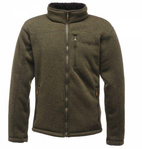 REGATTA  Ambushed Full-Zip Fleece - Dark Khaki.