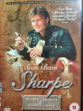 Sean Bean SHARPE'S HONOUR / SHARPE'S GOLD ~ TV Drama Double Bill | UK DVD