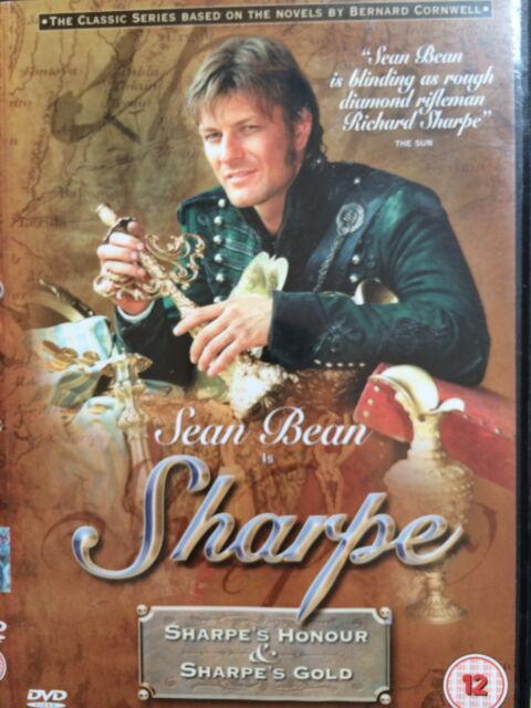 Sean Bean SHARPE'S HONOUR / sharpe's GOLD ~ TV Drama Double Bill UK DVD