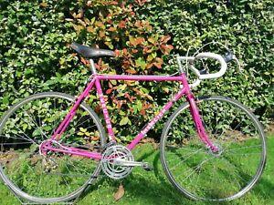 Vélo course Mercier Reynolds 531 rose pâle groupe Mafac Gold occasion restauré