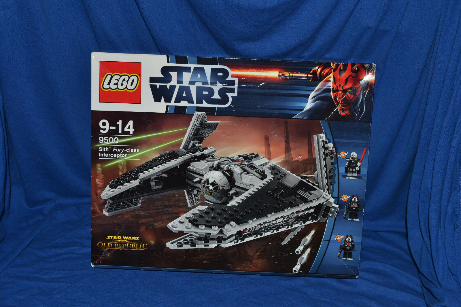 LEGO Set 9500 Star Wars Sith Fury class Interceptor verschlossen sealed set