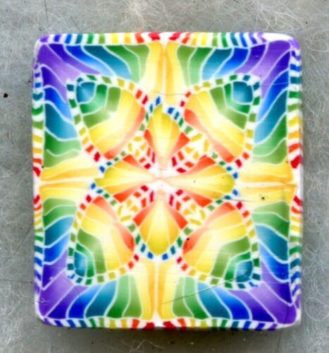 "Premo # 02210  7//8/"" x 1 5//8/"" 1 ounce square raw Kato polymer clay cane"