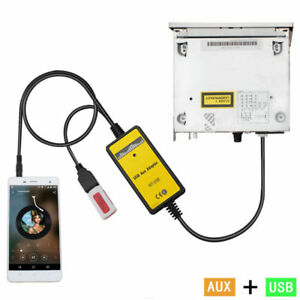 Car-Audio-MP3-Interface-USB-SD-AUX-Adapter-For-VW-12pin-Beetle-Jetta-Passat-Polo