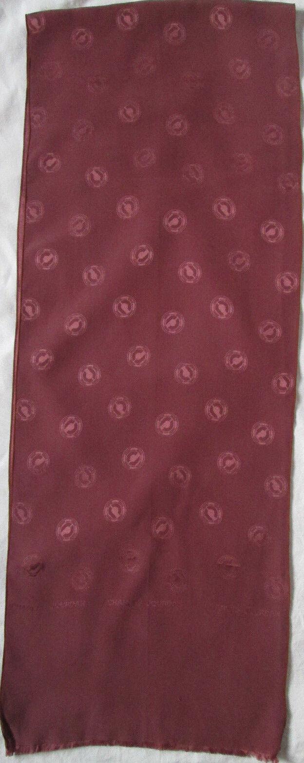 - scarf charles jourdan vintage silk scarf 26 x 140 cm