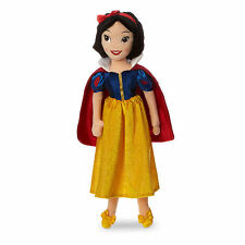 "Disney Store Authentic Princess Snow White Embroidered Plush Doll 19 1/2"" H NWT"