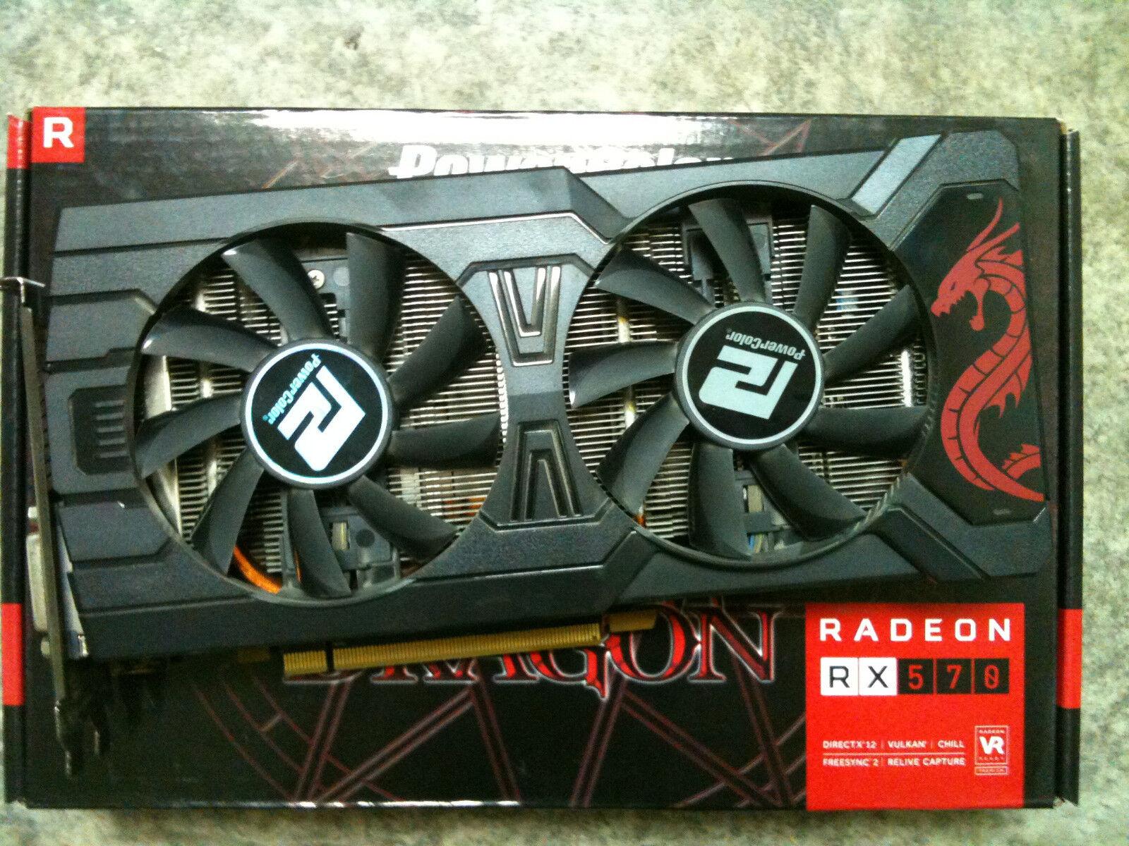 PowerColor Red Devil Radeon RX 570 4gb Gddr5