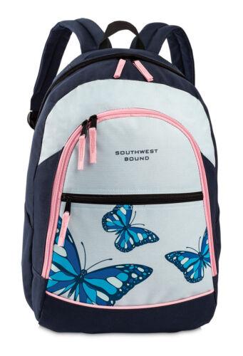 RUCKSACK Fabrizio Freizeitrucksack Butterfly Schmetterling Blau LIla Petrol