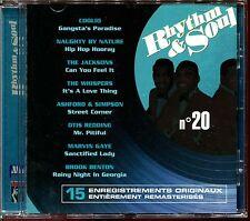 RHYTHM & SOUL N°20 - DISCO FUNK BLACK MUSIC MOTOWN - CD COMPILATION [461]