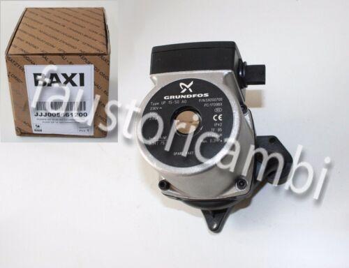 BAXI CIRCOLATORE GRUNDFOS UP 15-50 AO ART 005661200 JJJ005661200 POMPA 15 50