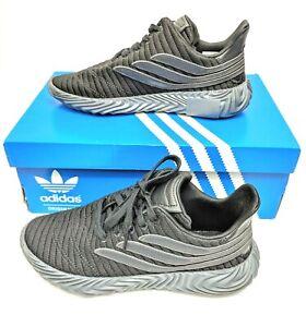 Adidas-Mens-US-7-Sobakov-Triple-Black-Shoes-Runners-Sneakers-Trainers-B41968-6-5