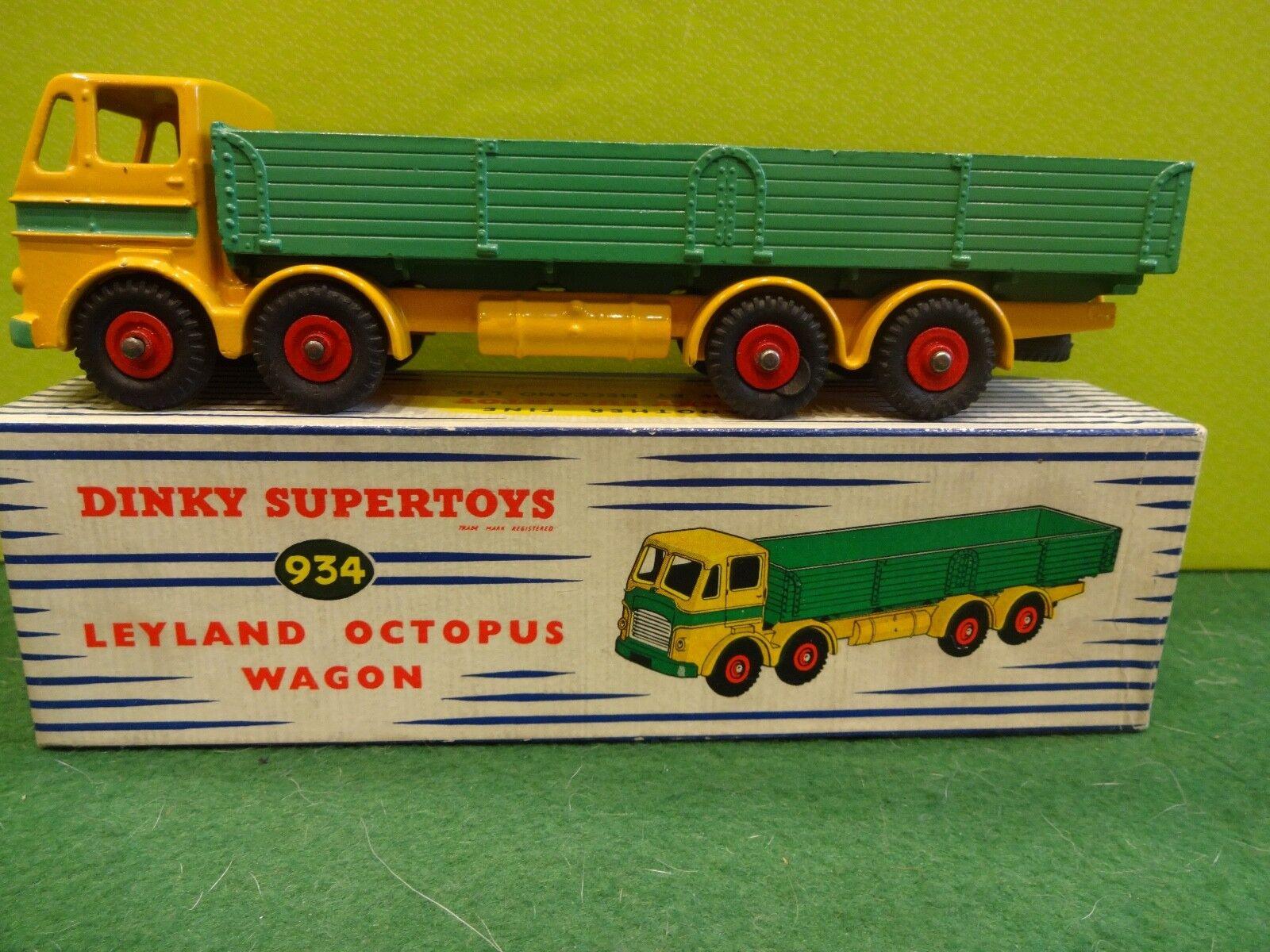 DINKY SUPERTOYS LEYLAND OCTOPUS WAGON 934