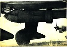 Cartolina Aviazione - La Bomba Di Maggior Calibro Sotto La Fusoliera Di Un Picch