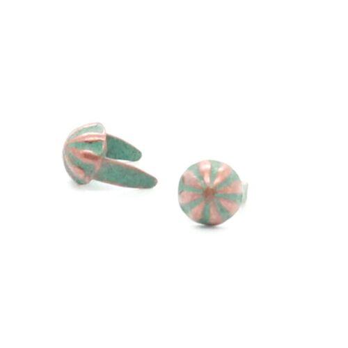 "Copper Patina Parachute 3//16/"" Diam Nailhead Spot 100 pk NH00197-90"