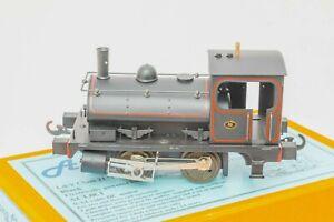Along-Classic-Lines-L-amp-Y-Class-21-Pug-Loco-L-amp-Y-black-O-Gauge-Coarse-scale