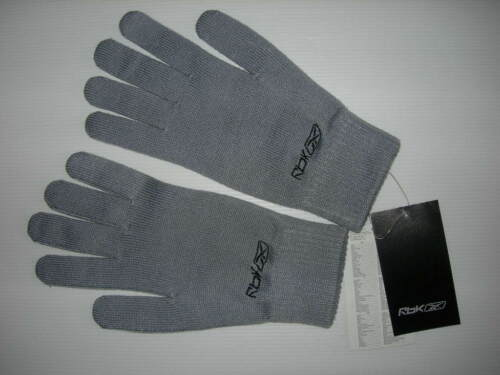 mixtes 100 /% acrylique GRIS bleuté  en taille 9 // neufs gants  REEBOK chauds