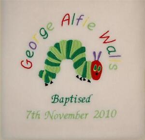 Very Hungry Caterpillar Stunning Blanket Christening Birthday