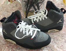 Nike Air Jordan SC-2 (GS) Youth Gray Basketball Sneakers Sz 6.5Y - 454088-002