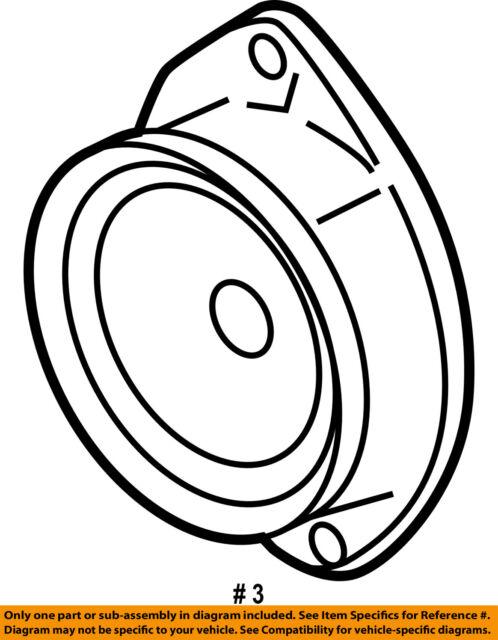Buy 2006 2010 Saturn Sky Pontiac Solstice Door Speaker Oem Acdelco