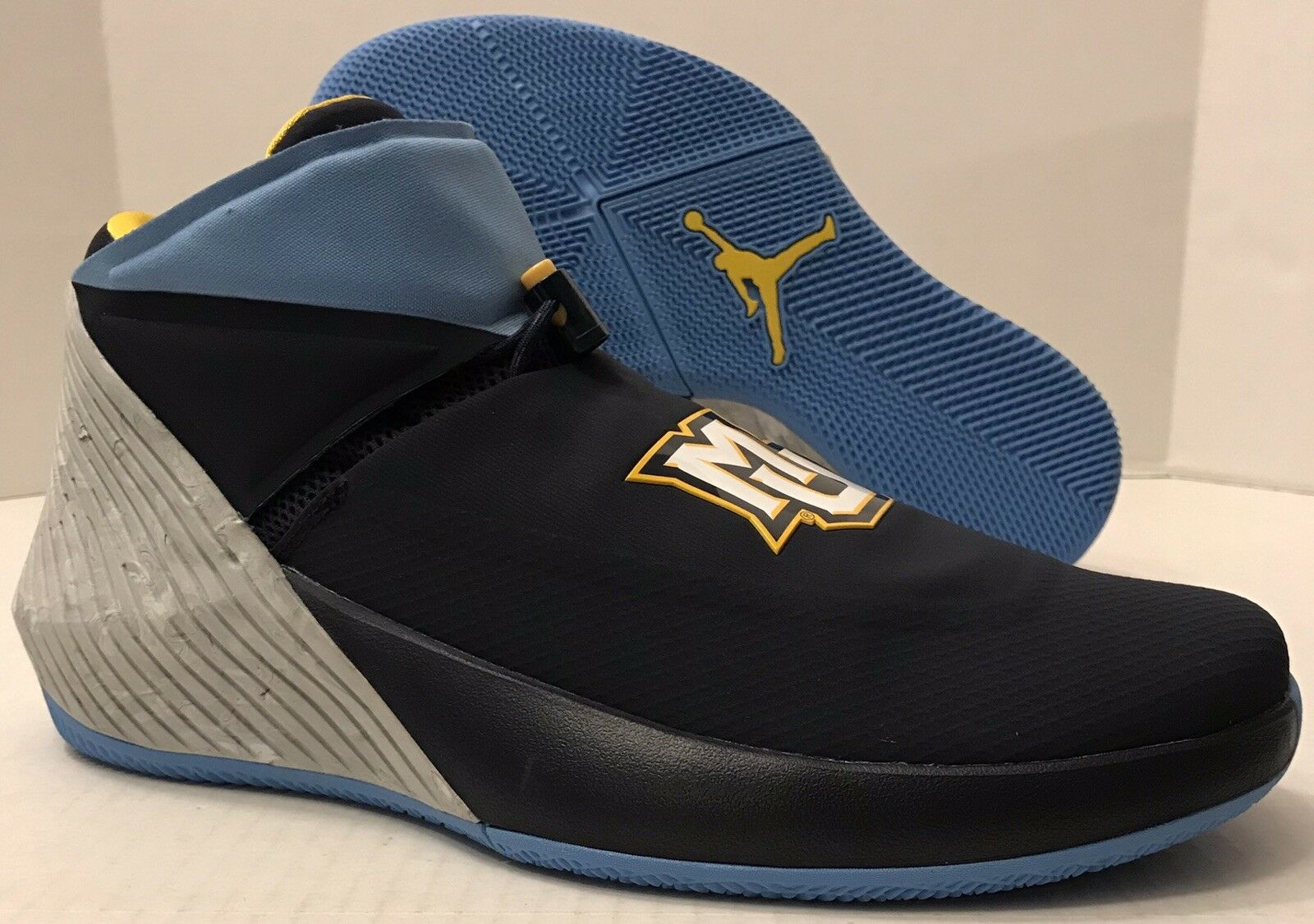 NIKE AIR JORDAN WHY NOT ZER0.1  MARQUETTE  AA2510-403 bluee (MEN'S 12.5) NO BOX