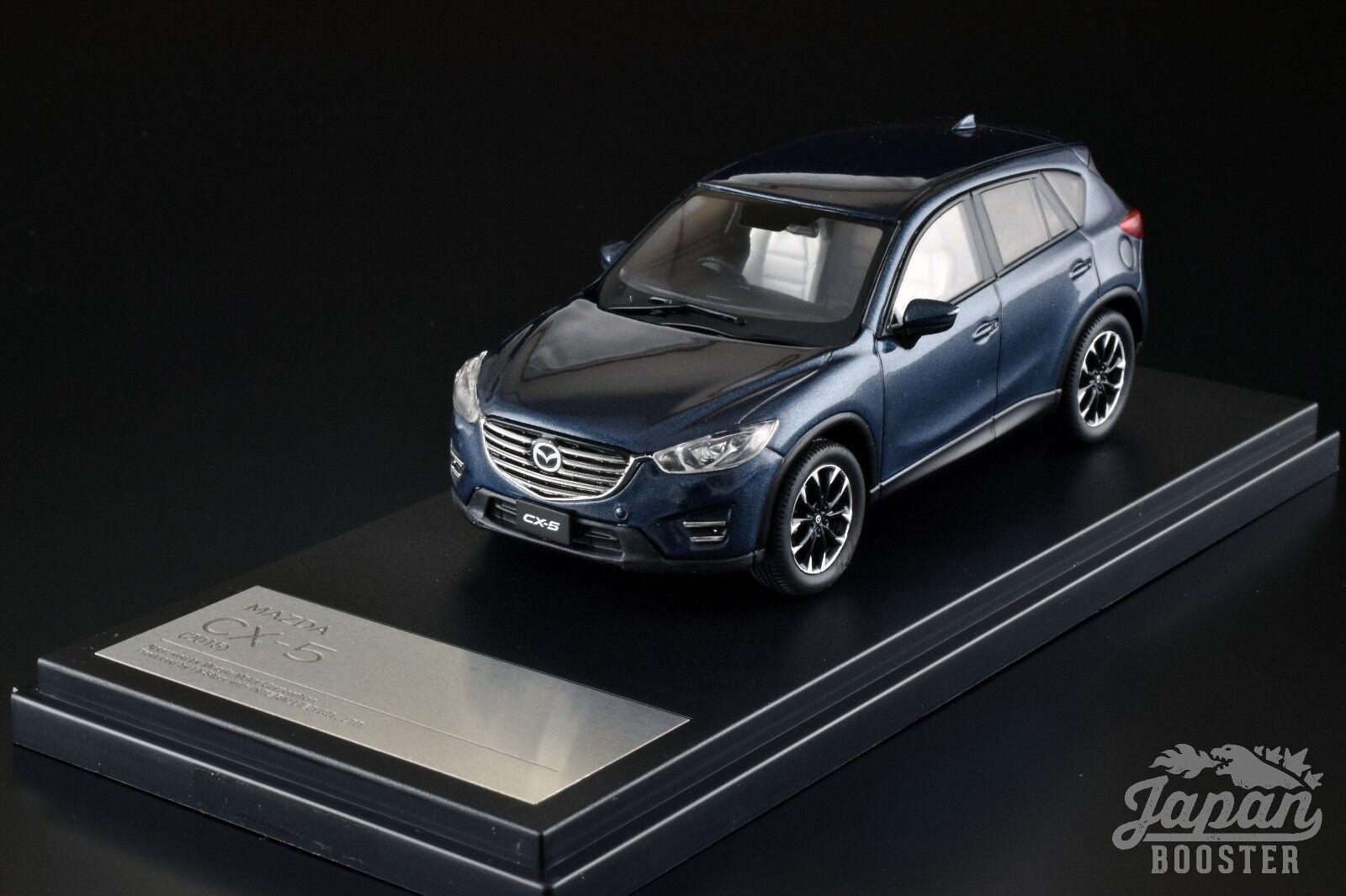 [Hi-Story 1 43] Mazda CX-5 2015 Deep Crystal bluee Mica HS136DB