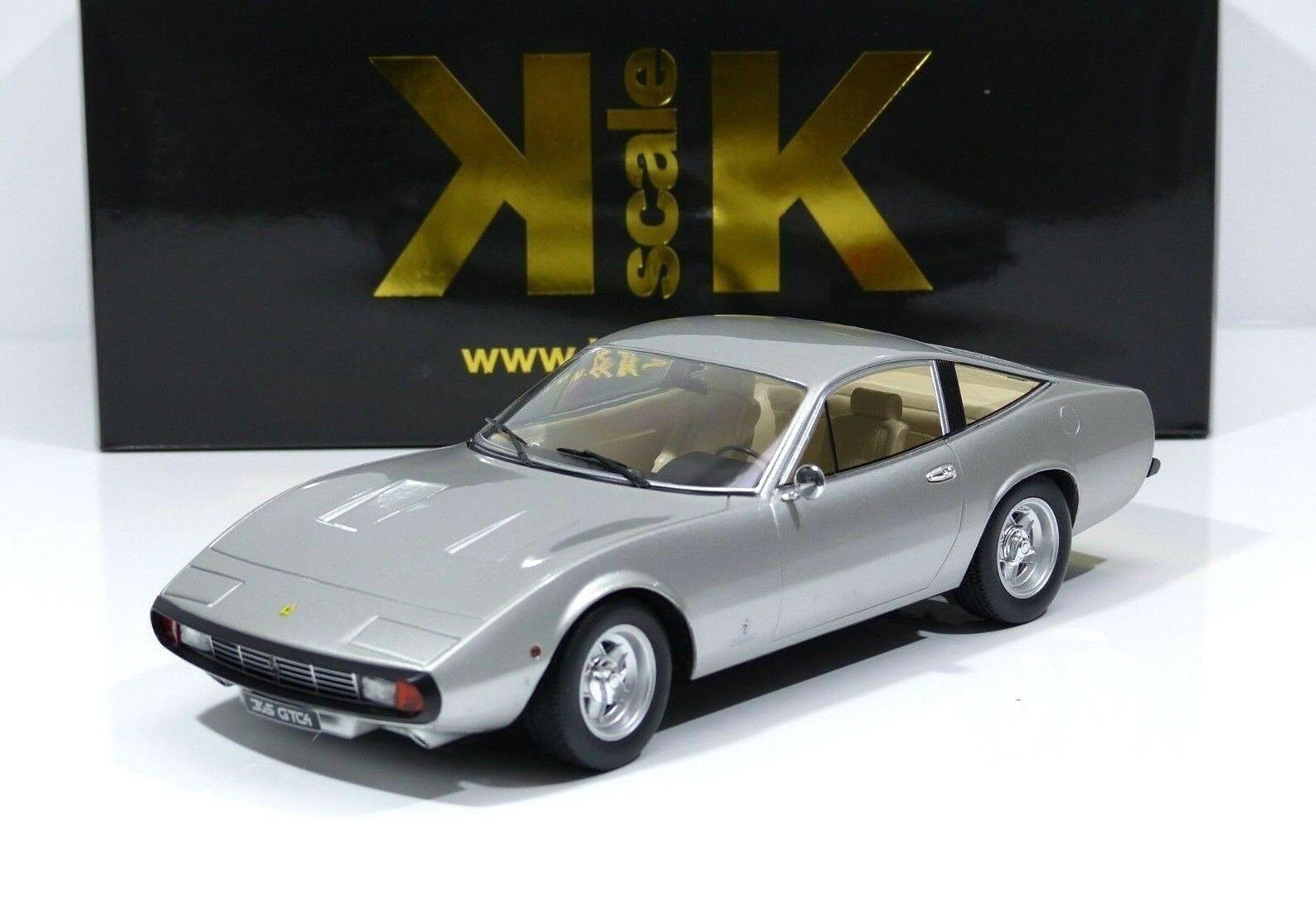 Ferrari 365 365 365 GTC 4 Baujahr 1971 silver KK-Scale KKDC180283 1 18 Neu   OVP 9cbe1a