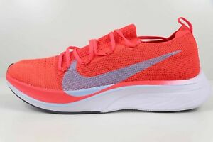 0465d9f628266 Nike Vaporfly 4% Flyknit Bright Crimson Ice Blue AJ3857 600 New in ...